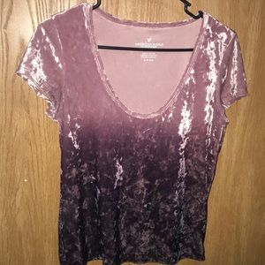 American Eagle Outfitters S/P Crushed Velvet Ombre